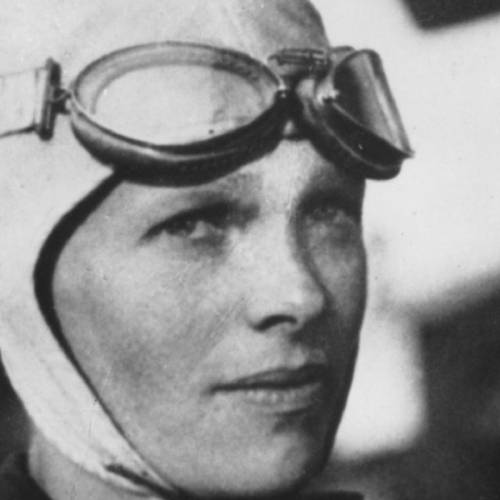 Amelia Earhart, the first woman to fly solo across the Atlantic Ocean, is seen in this undated photo. (AP Photo)