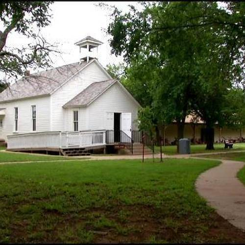 Rose Hill school, a one-room schoolhouse built in 1895, is a popular spot at the Cherokee Strip Museum in Perry. (Provided)
