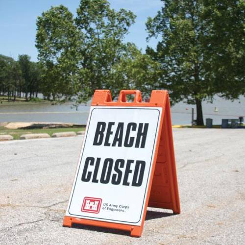 Oologah Lake is among those in Oklahoma where recent rain has forced some recreation spots to close. (Claremore Daily Progress photo)