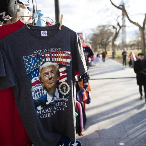 D.C. abuzz with preparations for Friday's presidential inauguration