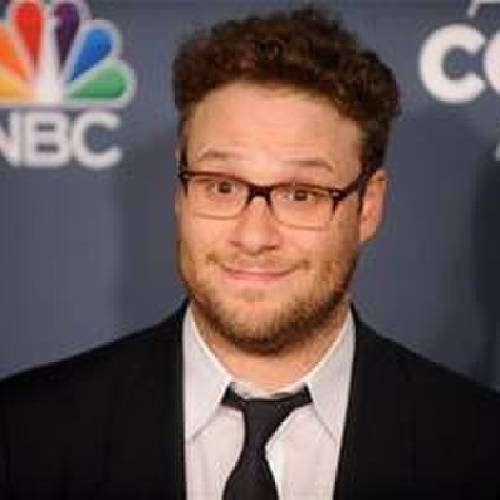 Seth Rogen attends the American Comedy Awards at the Hammerstein Ballroom on April 26 in New York. (Photo by Brad Barket/Invision/AP)