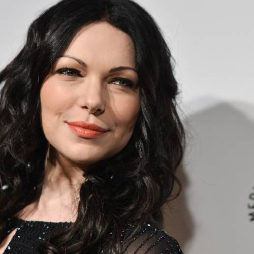 """Laura Prepon arrives at PALEYFEST 2014 - """"Orange is the New Black"""" on Friday, March 14, 2014, in Los Angeles. (Photo by Richard Shotwell/Invision/AP)"""