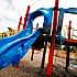 FIRE DAMAGES PLAYGROUND