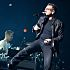 Larry Mullen Jr. and Bono of U2