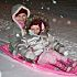 Girls sledding in Hobart. User submitted by Brett Porter.