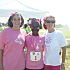 Leslie Littlejohn, left, at the 2011 Girls on the Run event. PHOTO PROVIDED