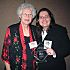 Carrie Tomlinson, Edmond's Urban Forester, was recently recognized with an Award of Excellence from Keep Oklahoma Beautiful. Tomlinson is pictured at the award banquet with Priscilla Parker, President of Keep Edmond Beautiful.