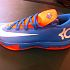 Kevin Durant's new shoe, the Nike KD VI. PHOTO BY DARNELL MAYBERRY, THE OKLAHOMAN