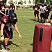 Girls avoid injury in nation\'s last tackle powder puff game