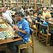 Edmond Rotarians take on student chess players