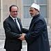 French president in anti-extremism talks with Al-Azhar imam