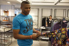 Russell Westbrook: Oklahoma City Thunder star collaborates with Barneys on new fashion line