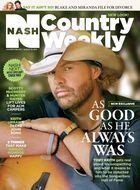 Toby Keith featured on Nash Country Weekly cover