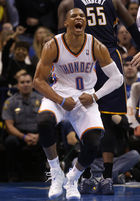 OKC Thunder: Russell Westbrook looks like old Russell Westbrook during rout of Pacers