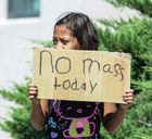 New Mexico governor: Keep worshipping after church blasts
