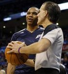 Russell Westbrook will not play against Cleveland on Thursday