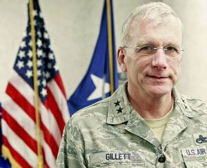 Photo - Maj. Gen. David Gillett is seen in this October file photo.
