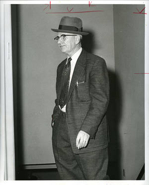 Gambler Hank Frey in 1958