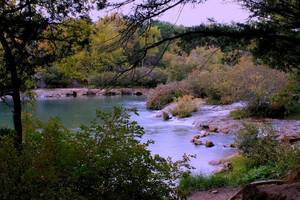 Photo - The Blue River near Tishomingo is a beautiful trout fishing destination <strong>Photo by Donny Carter</strong>