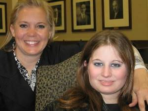 photo - 2009 file photo - Susan  Boehrer and her daughter Maddy  Boehrer, 17. The family has spent years on Maddys mental health treatment. PHOTO BY JULIE BISBEE
