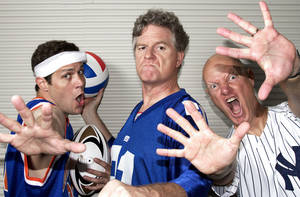 "Photo - The Reduced Shakespeare Company will present ""The Complete World of Sports (Abridged)""    Photo provided <strong>Photo provided</strong>"