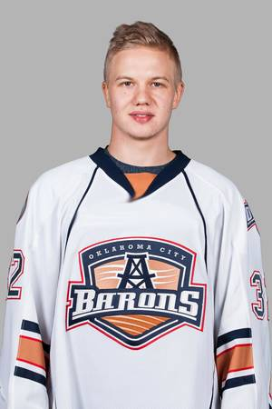 photo - MUG / OKLAHOMA CITY BARONS / AHL HOCKEY: Toni Rajala, OKC Barons Individuals.2012-13 Season ORG XMIT: SCPA0112
