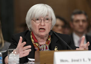 Photo - Janet Yellen  Federal Reserve  chairman <strong>J. Scott Applewhite - AP</strong>