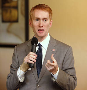 Photo - U.S. Rep. James Lankford <strong>PAUL HELLSTERN</strong>