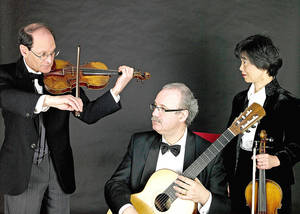 Photo - The Paganini Trio   Photo provided <strong>Photo provided</strong>