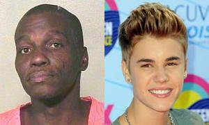 photo - Kenneth Irvin Gunn, 48, claimed to be pop singer Justin Bieber when Oklahoma City police arrested him on a public drunkenness complaint.