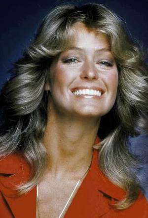 "Photo - In this 1977 file photo originally released by ABC, Farrah Fawcett-Majors, from the series ""Charlie's Angels,"" is shown. Fawcett died today."