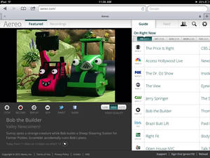 Photo - FILE - This file image provided by Aereo shows a streaming broadcast of Bob the Builder on the New York PBS station, WNET 13. The Supreme Court on Wednesday, June 25, 2014 ruled that Aereo has to pay broadcasters when it takes television programs from the airwaves and allows subscribers to watch them on smartphones and other portable devices.  (AP Photo/Aereo, File)