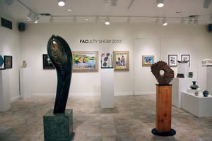 "Photo - Works are on display at the Firehouse Art Center's 2012 ""Faculty Art Show.""  Photo provided"