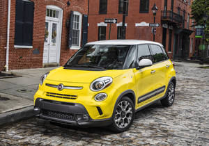 Photo - This undated image made available by Chrysler shows the 2014 Fiat 500L. (AP Photo/Chrysler)