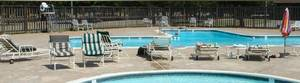 Photo - A view of the pool area at Westbury Country Club, which will be auctioned Nov. 1. <strong> - PROVIDED</strong>