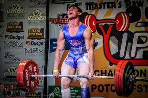Photo - Deer Creek senior Nathan Kimball started competing in powerlifting events in 2013 and is off to a strong start. PHOTO PROVIDED