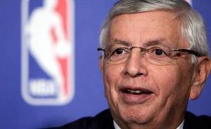 photo - National Basketball Association commissioner David Stern responds to a question during a news conference in New York, Thursday, Oct. 21, 2010. (AP Photo/Richard Drew) 