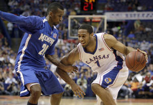 Photo - Former Kansas and Putnam City star Xavier Henry could be a lottery pick in Thursday's NBA Draft. AP PHOTO