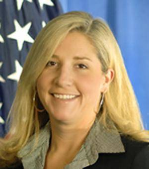 """Photo -   This undated image provided by the U.S. Department of Homeland Security shows Chief of Staff Suzanne Barr. A senior agent for Immigration and Customs Enforcement and the U.S. government have agreed to settle a discrimination lawsuit out of court, according a court record filed Thursday. In a two-sentence notice, a lawyer for ICE Agent James T. Hayes Jr. said the """"parties have come to an agreement in principal"""" to settle the case for $175,000. Hayes' attorney Morris Fischer, wrote that along with the money, """"a formal settlement agreement will be executed within the next several days"""" that will include other conditions, including Hayes keeping his job.  Hayes filed the lawsuit in May and described a """"frat house"""" environment at ICE that humiliated male employees under Barr. (AP Photo/U.S. Department of Homeland Security)"""
