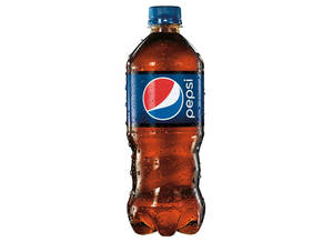 photo - This product image provided by Pepsi shows the new shape for the 20 ounce bottle. The new bottle has a contoured bottom half that appears easier for holding, and the wraparound label is shorter so that more of the drink is exposed. The change follows a number of splashy moves in the past year by PepsiCo to improve results for its namesake soda, including a multiyear deal to sponsor the Super Bowl halftime show and a wide-ranging deal with the pop star Beyonce. (AP Photo/Pepsi)  ORG XMIT: NYJN102