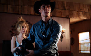 Matthew McConaughey and Juno Temple, left, in a scene from &quot;Killer Joe.&quot;