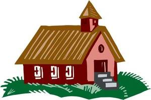 photo - Schoolhouse graphic. Photo provided