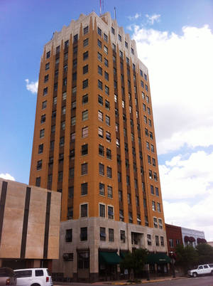 Photo - The historic Broadway Tower was bought last year by investors who plan to turn it into a boutique hotel. <strong>Richard Mize - The Oklahoman</strong>