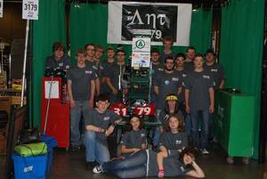 Photo - Adair Public Schools' robotics program, which began in 2009 with 10 students, has grown to a team of 31. The school district has won a Google grant to help fund the program. <strong> - PROVIDED</strong>