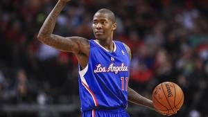 Photo - Mar 29, 2014; Houston, TX, USA; Los Angeles Clippers guard Jamal Crawford (11) signals during the third quarter against the Houston Rockets at Toyota Center. The Clippers defeated the Rockets 118-107. Mandatory Credit: Troy Taormina-USA TODAY Sports