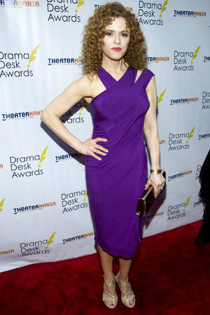Photo -   Bernadette Peters arrives at the 57th annual Drama Desk Awards on Sunday, June 3, 2012, in New York. (Photo by Charles Sykes/Invision/AP)