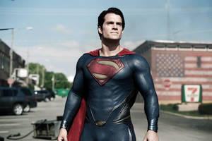 "Photo - This film publicity image released by Warner Bros. Pictures shows Henry Cavill as Superman in ""Man of Steel."" (AP Photo/Warner Bros. Pictures, Clay Enos, File)"