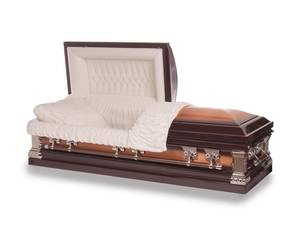 photo - In most states, a wide range of vendors sell caskets without harm to consumers. Oklahoma is one of only a handful of states with this restriction.