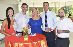 Photo - Leigh Ann Pierce, Brett Price, Amanda Kirkpatrick, Travis Lawler, J.T. Sherman. PHOTOS PROVIDED