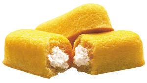 Photo -   FILE - This 2003 file photo originally released by Interstate Bakeries Corporation shows Twinkies cream-filled snack cakes. Twinkies first came onto the scene in 1930 and contained real fruit until rationing during World War II led to the vanilla cream Twinkie. (AP Photo/Interstate Bakeries Corporation via PRNewsFoto)